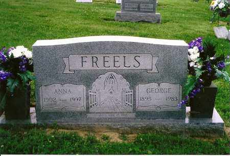 FREELS, GEORGE - Henderson County, Kentucky | GEORGE FREELS - Kentucky Gravestone Photos