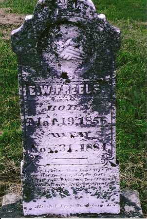 FREELS, E.W. - Henderson County, Kentucky | E.W. FREELS - Kentucky Gravestone Photos