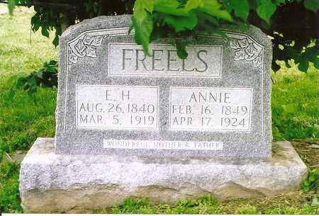 FREELS, E.H. - Henderson County, Kentucky   E.H. FREELS - Kentucky Gravestone Photos
