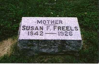 FREELS, SUSAN F. - Henderson County, Kentucky | SUSAN F. FREELS - Kentucky Gravestone Photos