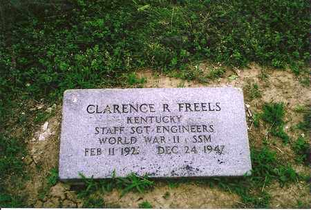 FREELS (VETERAN WWII), CLARENCE R. - Henderson County, Kentucky | CLARENCE R. FREELS (VETERAN WWII) - Kentucky Gravestone Photos