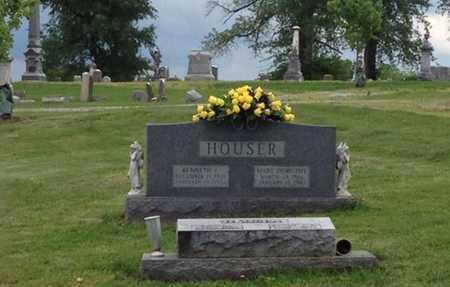 HOUSER, MARY DOROTHY - Henry County, Kentucky   MARY DOROTHY HOUSER - Kentucky Gravestone Photos