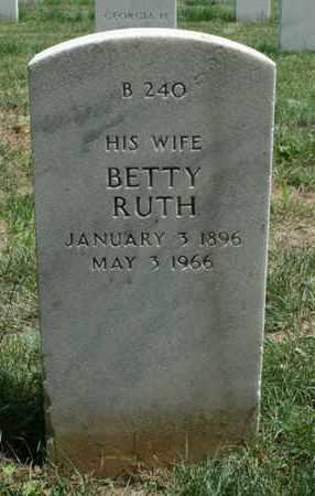 ADAMS, BETTY RUTH - Jefferson County, Kentucky | BETTY RUTH ADAMS - Kentucky Gravestone Photos