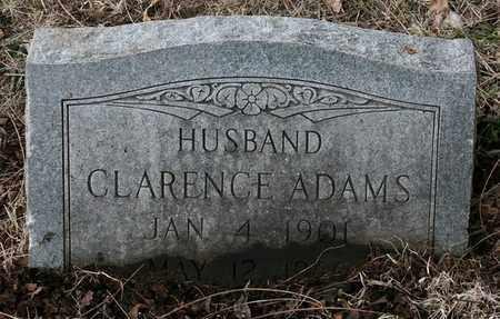 ADAMS, CLARENCE - Jefferson County, Kentucky | CLARENCE ADAMS - Kentucky Gravestone Photos