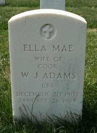 ADAMS, ELLA MAE - Jefferson County, Kentucky | ELLA MAE ADAMS - Kentucky Gravestone Photos