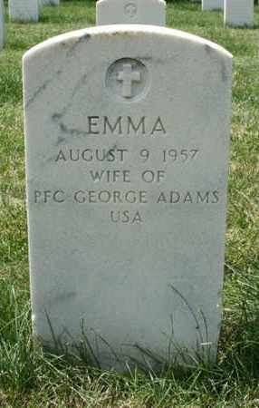 ADAMS, EMMA - Jefferson County, Kentucky | EMMA ADAMS - Kentucky Gravestone Photos