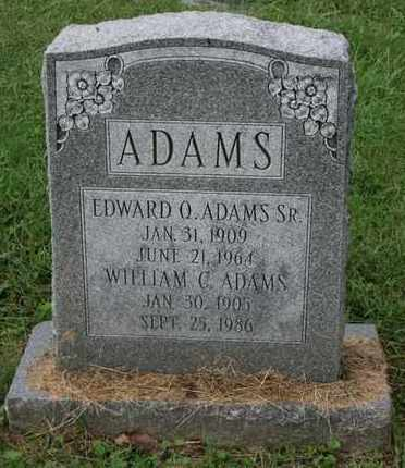 ADAMS, EDWARD Q. SR. - Jefferson County, Kentucky | EDWARD Q. SR. ADAMS - Kentucky Gravestone Photos