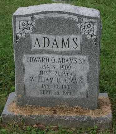 ADAMS, WILLIAM C. - Jefferson County, Kentucky   WILLIAM C. ADAMS - Kentucky Gravestone Photos