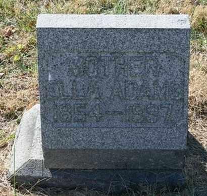 ADAMS, ELLA - Jefferson County, Kentucky | ELLA ADAMS - Kentucky Gravestone Photos