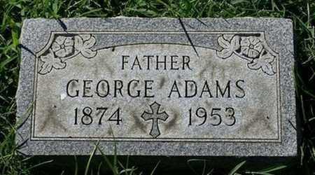 ADAMS, GEORGE - Jefferson County, Kentucky | GEORGE ADAMS - Kentucky Gravestone Photos