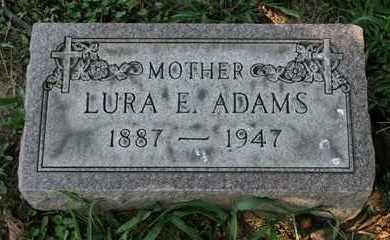 ADAMS, LURA E. - Jefferson County, Kentucky | LURA E. ADAMS - Kentucky Gravestone Photos