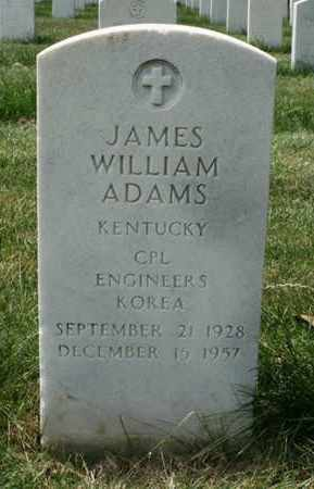 ADAMS (VETERAN KOR), JAMES - Jefferson County, Kentucky | JAMES ADAMS (VETERAN KOR) - Kentucky Gravestone Photos