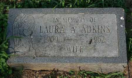 ADKINS, LAURA A. - Jefferson County, Kentucky | LAURA A. ADKINS - Kentucky Gravestone Photos