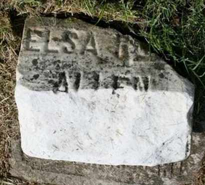 ALLEN, ELSA G. - Jefferson County, Kentucky | ELSA G. ALLEN - Kentucky Gravestone Photos