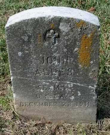 ALLES (VETERAN UNION), JOHN - Jefferson County, Kentucky | JOHN ALLES (VETERAN UNION) - Kentucky Gravestone Photos