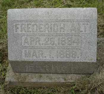 ALT, FREDERICH - Jefferson County, Kentucky | FREDERICH ALT - Kentucky Gravestone Photos