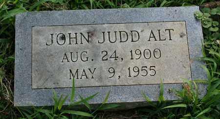 ALT, JOHN JUDD - Jefferson County, Kentucky | JOHN JUDD ALT - Kentucky Gravestone Photos