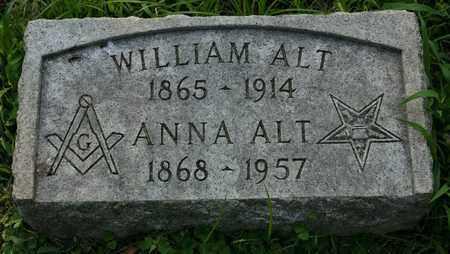 ALT, WILLIAM - Jefferson County, Kentucky   WILLIAM ALT - Kentucky Gravestone Photos
