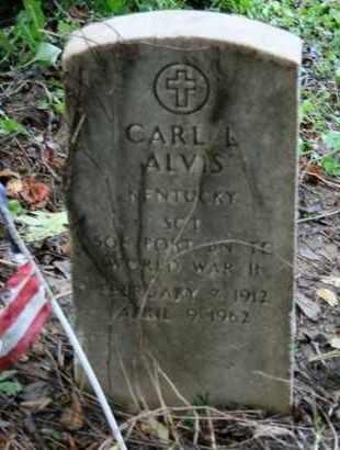 ALVIS (VETERAN WWII), CARL L. - Jefferson County, Kentucky | CARL L. ALVIS (VETERAN WWII) - Kentucky Gravestone Photos
