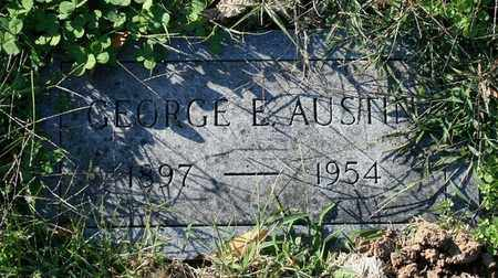 AUSTIN, GEORGE E. - Jefferson County, Kentucky | GEORGE E. AUSTIN - Kentucky Gravestone Photos