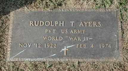 AYERS (VETERAN WWII), RUDOLPH T. (NEW) - Jefferson County, Kentucky | RUDOLPH T. (NEW) AYERS (VETERAN WWII) - Kentucky Gravestone Photos