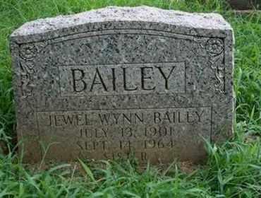 BAILEY, JEWEL WYNN - Jefferson County, Kentucky | JEWEL WYNN BAILEY - Kentucky Gravestone Photos