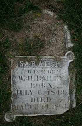 BAILEY, SARAH P. - Jefferson County, Kentucky | SARAH P. BAILEY - Kentucky Gravestone Photos