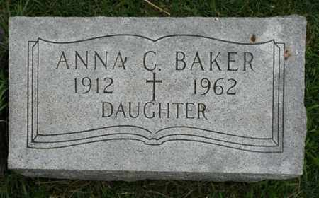BAKER, ANNA C. - Jefferson County, Kentucky   ANNA C. BAKER - Kentucky Gravestone Photos