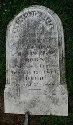 BAKER, CHARLOTTE - Jefferson County, Kentucky   CHARLOTTE BAKER - Kentucky Gravestone Photos
