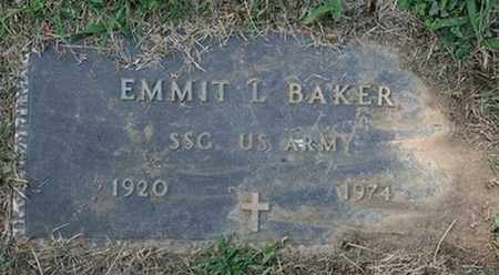 BAKER, EMMIT L. - Jefferson County, Kentucky | EMMIT L. BAKER - Kentucky Gravestone Photos