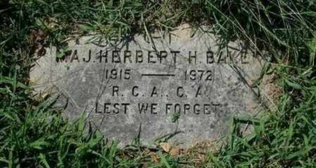 BAKER, HERBERT H. - Jefferson County, Kentucky | HERBERT H. BAKER - Kentucky Gravestone Photos