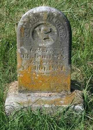 BAKER, JACOB - Jefferson County, Kentucky | JACOB BAKER - Kentucky Gravestone Photos