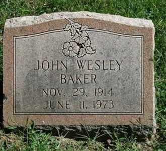 BAKER, JOHN WESLEY - Jefferson County, Kentucky | JOHN WESLEY BAKER - Kentucky Gravestone Photos