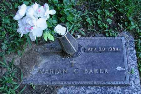 BAKER, MARIAN C. - Jefferson County, Kentucky   MARIAN C. BAKER - Kentucky Gravestone Photos
