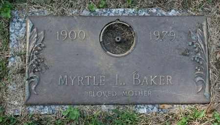 BAKER, MYRTLE - Jefferson County, Kentucky | MYRTLE BAKER - Kentucky Gravestone Photos