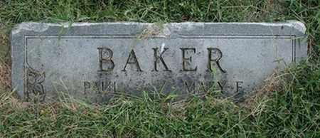 BAKER, PAUL - Jefferson County, Kentucky | PAUL BAKER - Kentucky Gravestone Photos