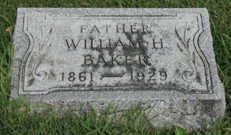 BAKER, WILLIAM H. - Jefferson County, Kentucky | WILLIAM H. BAKER - Kentucky Gravestone Photos