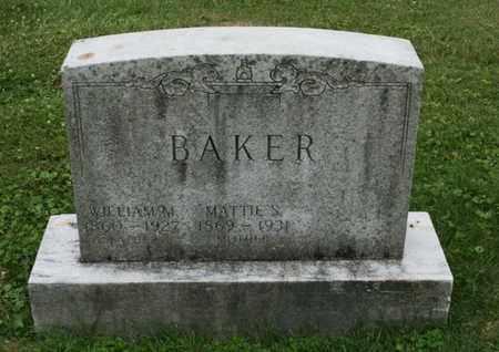 BAKER, WILLIAM M. - Jefferson County, Kentucky | WILLIAM M. BAKER - Kentucky Gravestone Photos