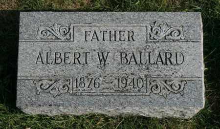 BALLARD, ALBERT W. - Jefferson County, Kentucky | ALBERT W. BALLARD - Kentucky Gravestone Photos