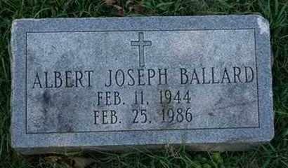 BALLARD, ALBERT JOSEPH - Jefferson County, Kentucky | ALBERT JOSEPH BALLARD - Kentucky Gravestone Photos