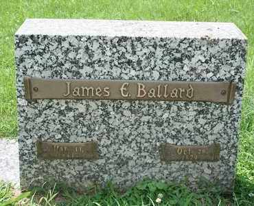 BALLARD, JAMES E. - Jefferson County, Kentucky | JAMES E. BALLARD - Kentucky Gravestone Photos