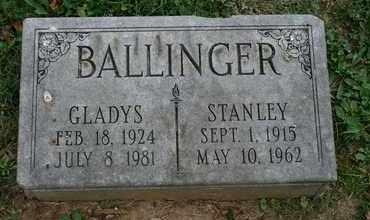 BALLINGER, GLADYS - Jefferson County, Kentucky   GLADYS BALLINGER - Kentucky Gravestone Photos