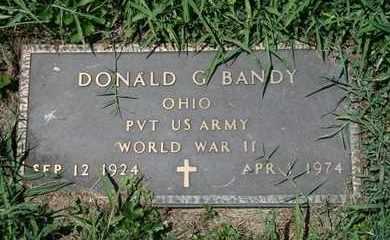 BANDY (VETERAN WWII), DONALD G. (NEW) - Jefferson County, Kentucky | DONALD G. (NEW) BANDY (VETERAN WWII) - Kentucky Gravestone Photos