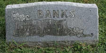 BANKS, JOSEPH N. - Jefferson County, Kentucky | JOSEPH N. BANKS - Kentucky Gravestone Photos