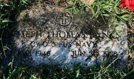 BANKS, JOSEPH THOMAS - Jefferson County, Kentucky   JOSEPH THOMAS BANKS - Kentucky Gravestone Photos