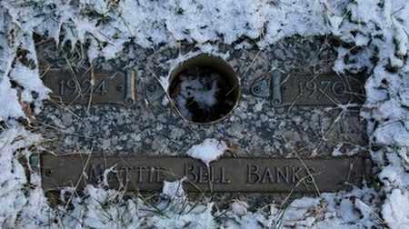 BANKS, MATTIE BELL - Jefferson County, Kentucky | MATTIE BELL BANKS - Kentucky Gravestone Photos