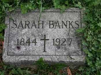 BANKS, SARAH - Jefferson County, Kentucky | SARAH BANKS - Kentucky Gravestone Photos