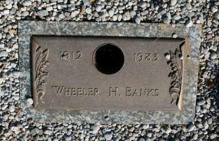 BANKS, WHEELER H. - Jefferson County, Kentucky   WHEELER H. BANKS - Kentucky Gravestone Photos