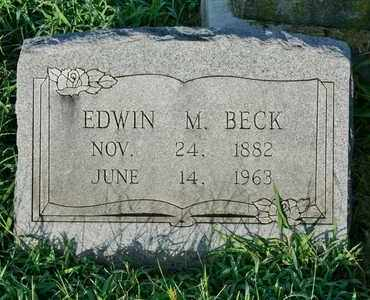 BECK, EDWIN MICHAEL - Jefferson County, Kentucky | EDWIN MICHAEL BECK - Kentucky Gravestone Photos