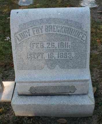 BRECKINRIDGE, LUCY - Jefferson County, Kentucky | LUCY BRECKINRIDGE - Kentucky Gravestone Photos